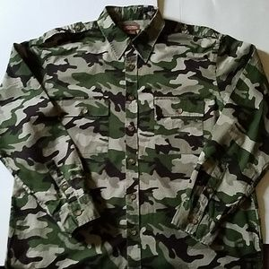 KENNETH COLE ARMY SHIRT